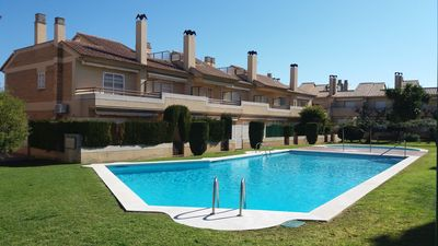 Photo for Semi-dettached house in Els Munts Toderrembarra beach