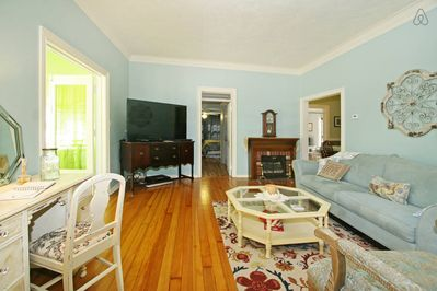 Southern Heart of Pine wood floors