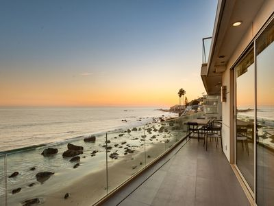 Photo for $14 Million Malibu Oceanfront Residence with Private Beach