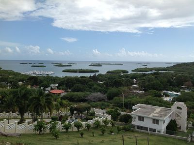 Photo for Espectacular 3 bdr penthouse overlooking Parguera keys, A/C, Wifi