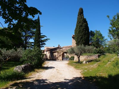 Photo for Superb provencal farmhouse with swimming pool - Promotion July !!