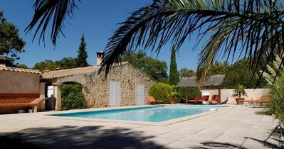 Photo for Dry stone Mas, very exceptional setting, private pool, absolutely quiet
