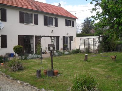 Photo for Great spacious country house          wonderful gardens which are private