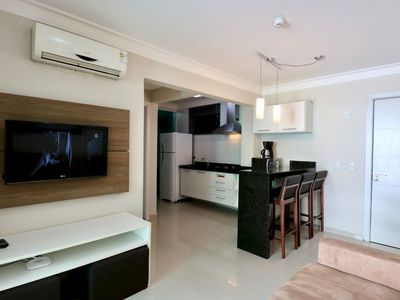 Photo for Rent Apartment 1 bedroom Summer Beach Pool Bombas / SC 484