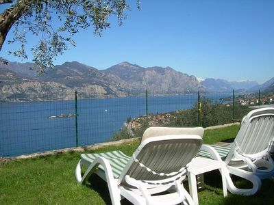 Photo for Holiday apartment Brenzone for 2 persons with 1 bedroom - Holiday apartment
