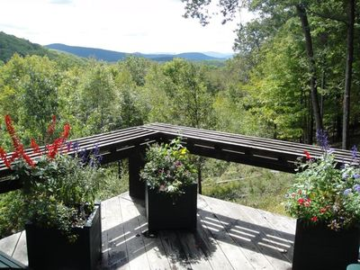 View from the deck.