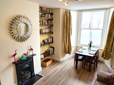 Photo for Beautiful Victorian flat in peaceful Clapham Common with easy transport