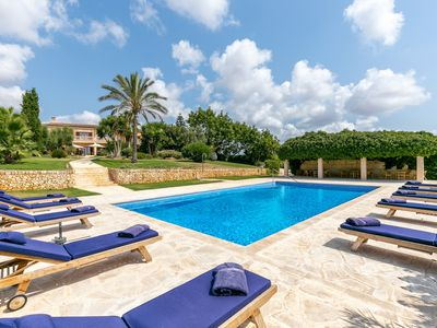 Photo for Finca Can Ferragut (090314) - Country house for 12 people in Manacor
