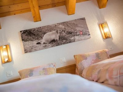 Photo for Apartment Helvetia (018B01) in Saas-Fee - 2 persons, 1 bedrooms