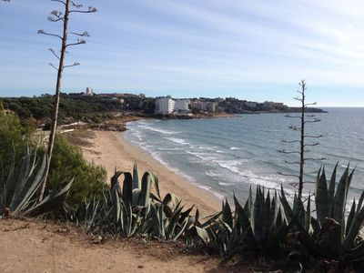 Photo for Cozy apartment in Salou with large terrace near the beach, Portaventura and Golf