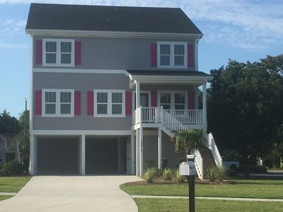 Photo for BEAUTIFUL NEWER HOME! 2 BLOCKS TO THE BOARDWALK & 3 BLOCKS TO THE BEACH!!!!