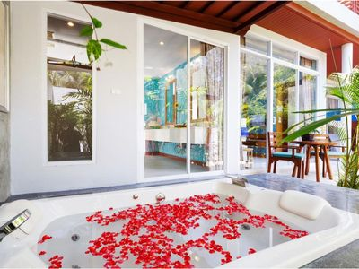 Photo for Jacuzzi Villa in Khao Lak with a romantic outdoor Jacuzzi JV#9