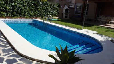 Photo for house with private pool, barbecue, free wifi, near Seville