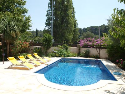 Photo for Air-conditioned villa with private pool in Cassis