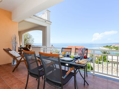 Photo for Apartment Sol with beautiful sea views