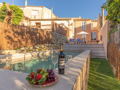 Photo for Campanet Holiday Home, Sleeps 6 with Pool, Air Con and WiFi