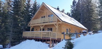 Photo for The Schwabenhütte chalet / holiday house for 8 people. with sauna in the ski u. hiking area