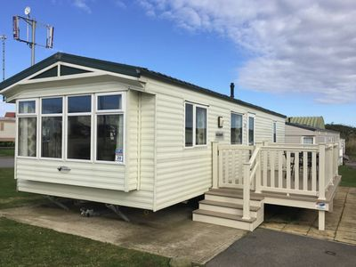 Photo for Luxury 2 bed Caravan with decking