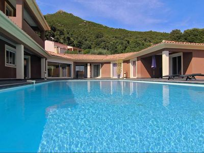 Photo for Villa Piazze - Luxurious villa, breathtaking views of the mountains