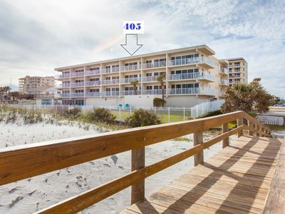Photo for Beachdrifter 405 Oceanfront Condo. Amazing Views from private oceanfront balcony