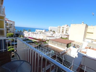 Photo for Fully refurbished 1 bedroom apartment with sea views