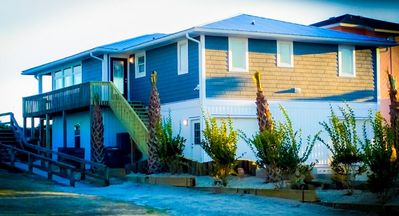 Photo for HAPPY MANATEE: 4 BR / 2 BA oceanfront in Surf City, Sleeps 11