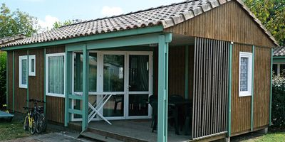 Photo for Camping Les Blancs Chênes **** - 3 Rooms Chalet 5 People