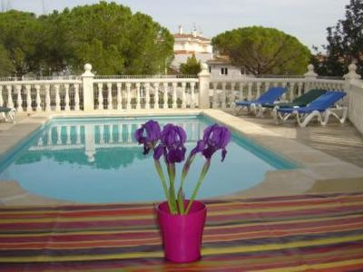 Photo for Villa with swimming pool  at  200 mts. to the beach