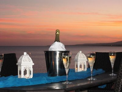 Spectacular Sunset View Of The Mediterranean Sea From Your Own Private Terrace