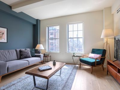 Photo for Dapper 1BR in Upper East Side w/ Doorman + Gym, next to Central Park