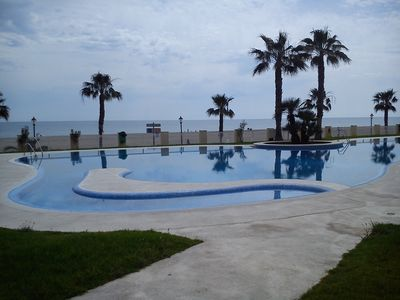 Photo for FIRST LINE BEACH, TERRACE SEA VIEWS, WIFI, PERFECT LOCATION