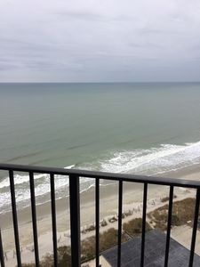 Palace Resort #2013, 2BR/2BA Angled Oceanfront Condo, 20th floor
