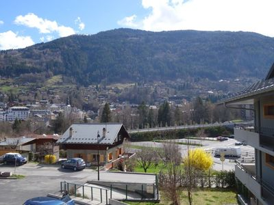 Photo for Apartment in the center of Saint-Gervais-les-Bains with Lift, Parking, Internet, Washing machine (281663)