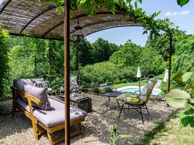 Photo for Le Frêne - Stunning spacious home with pool & views set in a tranquil hamlet
