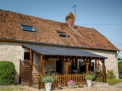 Photo for Nicely renovated former farm building with heated pool in the Loire Valley