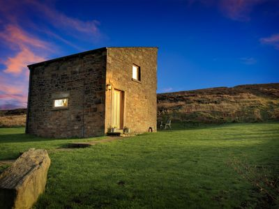 Photo for Beautifully renovated traditional stone barn cottage.family and pet friendlyWiFi