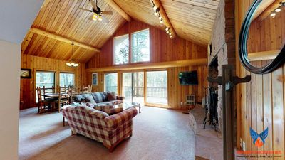 Photo for Wood-Burning Fireplace; Large Deck; Near Angel Fire Country Club! Knollwood