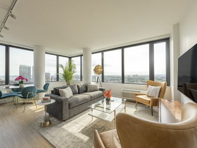 Photo for Top Floor 2BR Apartment with Wraparound NYC Views