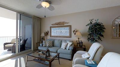 Photo for Sounds Of The Beach Will Call You To This Charming 3-Bedroom Condo!
