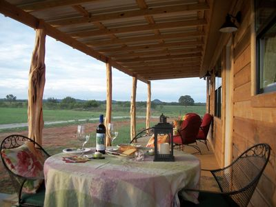 Photo for Cozy cabin perfect for romance, friends or families--8 min to closest wineries