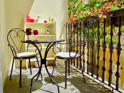 Photo for Character, Style, charm Quiet BALCONY Apart in Hip Trendy Karlin, Old Town 5 min