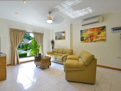 Photo for 3 Bdr Luxury Villa12 200m From the Beach