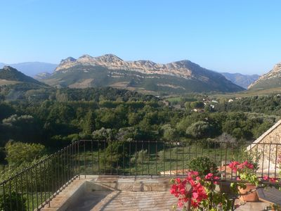 Photo for Typical house Corsica, calm, vast, comfortable, wifi, panoramic view, sea 4 km