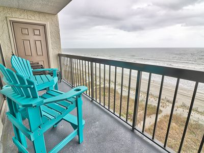 Photo for Ocean Front - Indoor & Outdoor Pool - Amazing Views - Free WIFI - Free Parking
