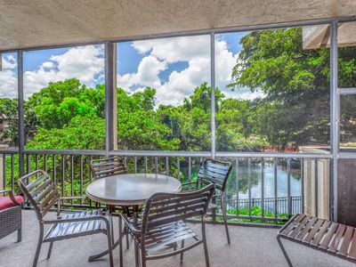 Photo for Gorgeous Spacious, waterfront condo with hot tub, pool, tennis, & volleyball