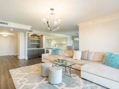 Photo for Luxury Gulf Front Condo 3 beds/3.5 baths in the heart of Clearwater Beach