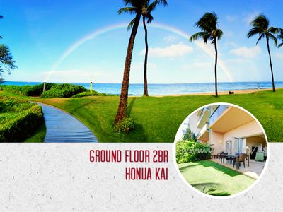 Photo for Ground Floor Luxury Condo┊Steps to Kannapali Beach┊Honua Kai Resort (Quiet Side)
