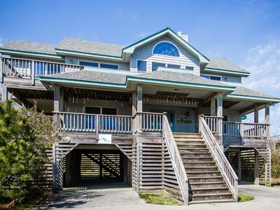 Photo for Margaritaville | 835 ft from the beach | Dog Friendly, Hot Tub | Corolla
