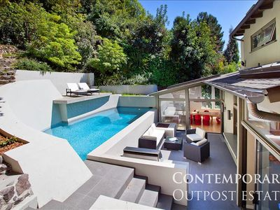 Photo for Eclectic Contemporary Hollywood Hills Retreat With Pool, Next to Mulholland Dr.
