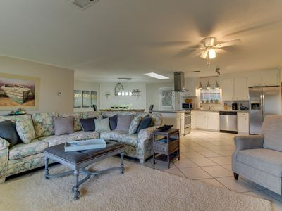Photo for NEW LISTING! Spacious, kid-friendly home with outdoor firepit and free WiFi!